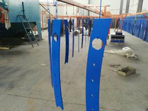 镀锌钢板立柱